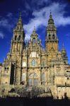 Fachada de la Catedral. Santiago de Compostela