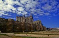 Murallas y catedral. Astorga